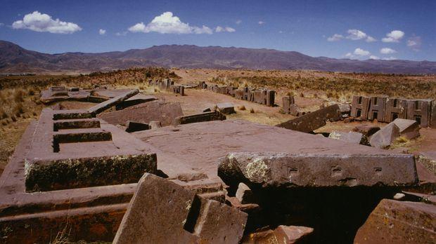 Haben hier Aliens gewohnt? Die Ruinen von Puma Punku zählen zu den ältesten u...