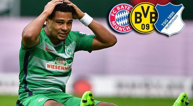 Serge Gnabry verlässt Werder Bremen: Seine Transferoptionen - Bildquelle: 201...