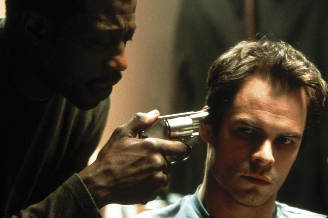 Mit Joe (Wesley Snipes, l.) ist nicht zu spaßen ... - Bildquelle: Kinowelt