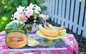 Melone-Wassermelone