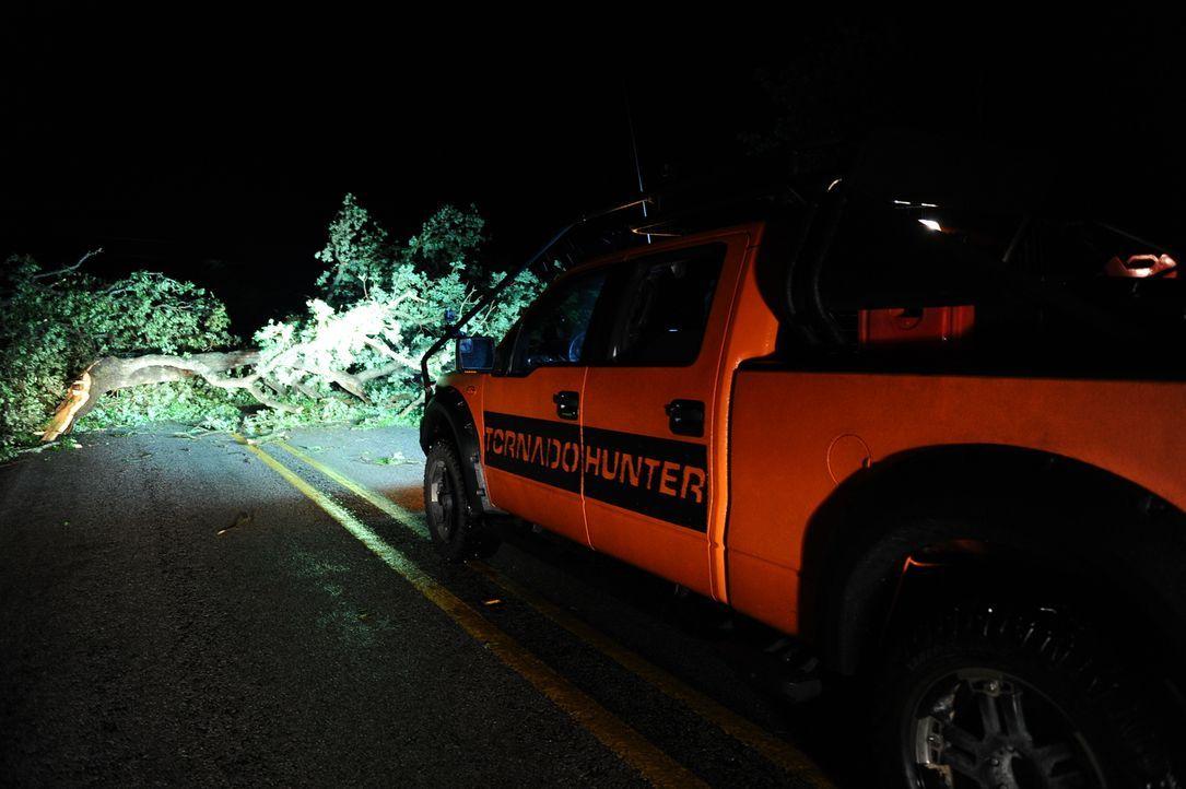 Auf der Jagd nach dem spektakulärsten Sturm müssen die Tornado Hunter einige Hürden überwinden ...