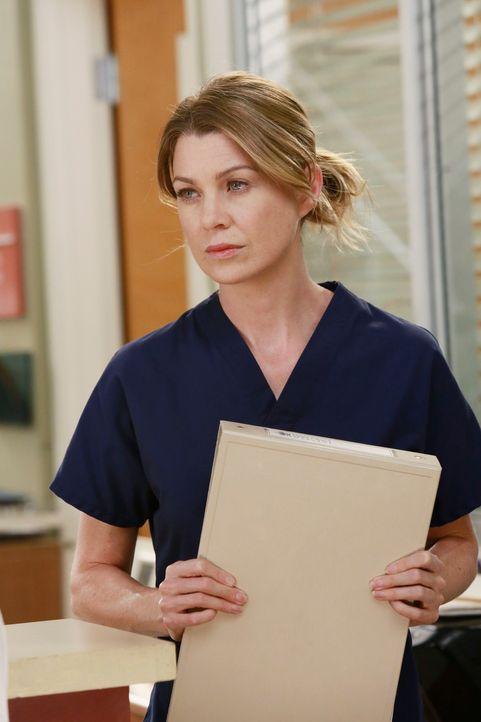 Macht sich Sorgen um Cristina: Meredith (Ellen Pompeo) ... - Bildquelle: ABC Studios