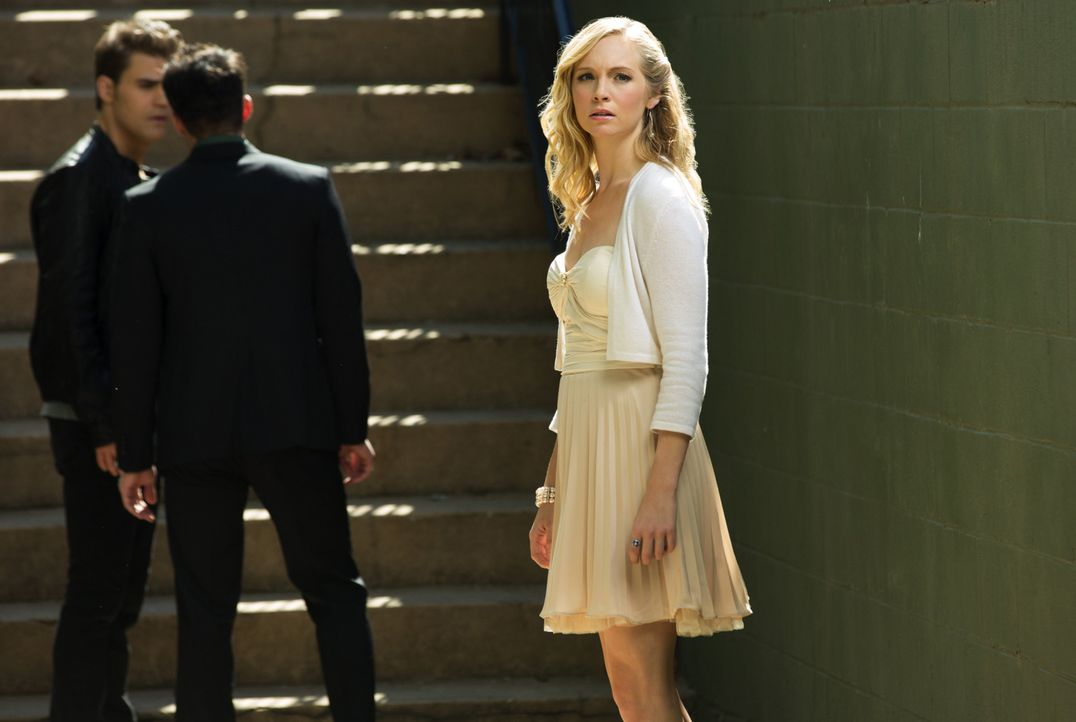 Stefan, Tyler und Caroline - Bildquelle: Warner Bros. Entertainment Inc.