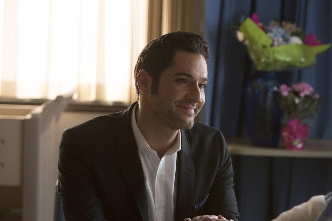 Als Lucifer (Tom Ellis) in die Hölle reist, um Chloe zu retten, gerät er selber in Gefahr, denn selbst der Teufel ist nicht frei von Schuldgefühlen... - Bildquelle: 2016 Warner Brothers