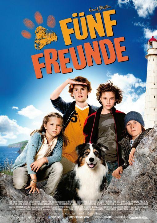 FÜNF FREUNDE - Plakatmotiv - Bildquelle: 2011 Constantin Film Verleih GmbH