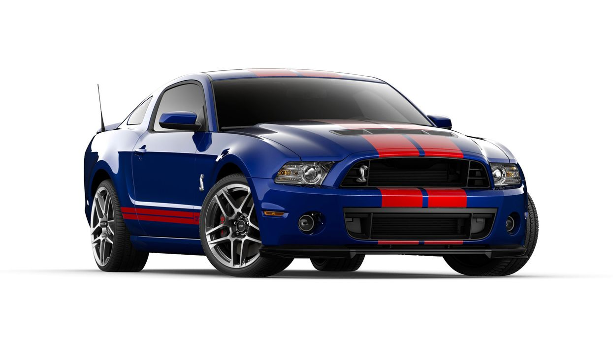 2014er Mustang Shelby GT500 (6) - Bildquelle: © 2013 Ford Motor Company