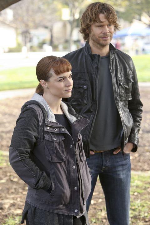 Hetty hat Deeks (Eric Christian Olsen, r.) als Partnerin Nell (Renée Felice Smith, l.) an die Seite gestellt ... - Bildquelle: CBS Studios Inc. All Rights Reserved.