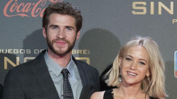 """Stars - """"Die Tribute von Panem""""-Star Jennifer Lawrence: Beim Date mit Liam Hemsworth erwischt"""