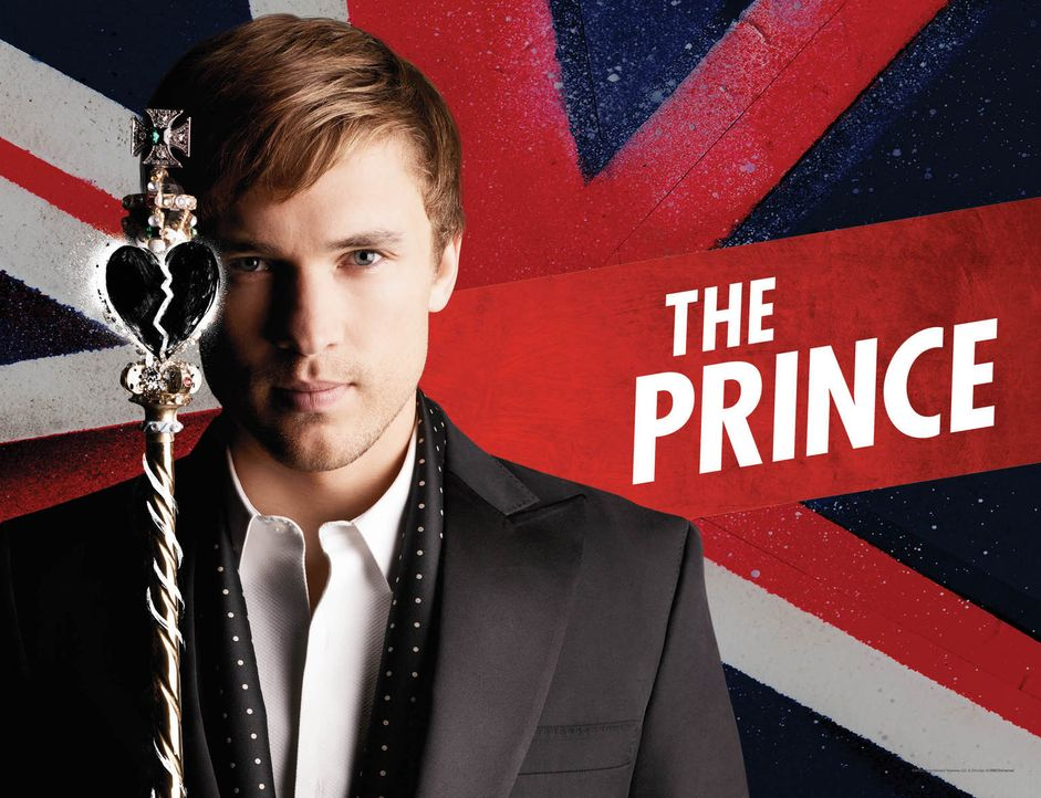 (1. Staffel) - The Royals: Prinz Liam (William Moseley) ... - Bildquelle: 2014 E! Entertainment Media LLC/Lions Gate Television Inc.
