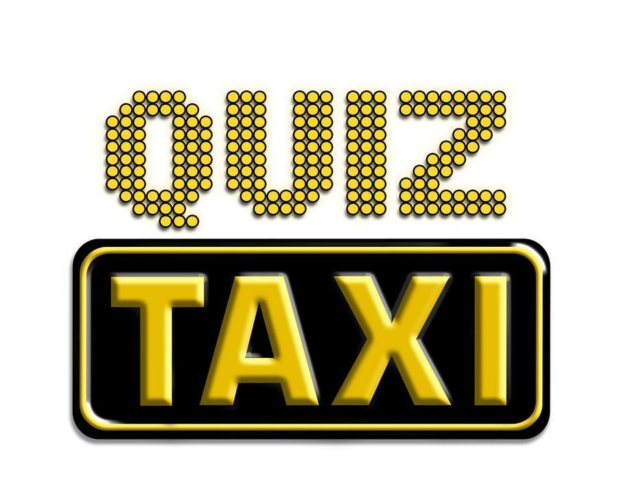 """""""Quiz-Taxi""""-Logo - Bildquelle: kabel eins"""