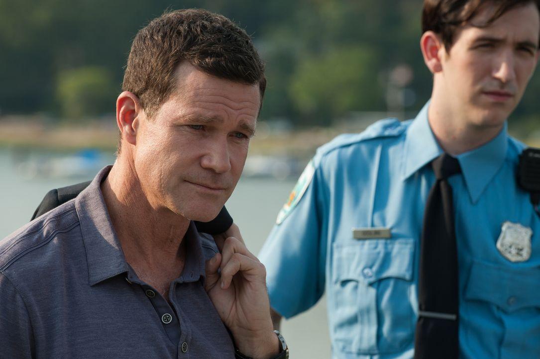 Könnte hinter dem Mord tatsächlich ein früherer Serienmörder stecken? Al (Dylan Walsh) unterstützt die örtliche Polizei so gut es geht bei der Aufkl... - Bildquelle: 2013 Sony Pictures Television Inc. All Rights Reserved.