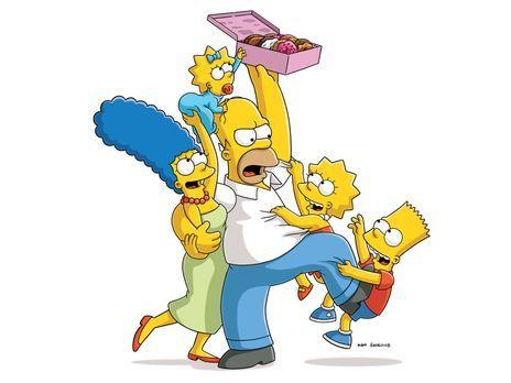 Die Simpsons - (27. Staffel) - Eine ungewöhnliche Familie: Maggie (2.v.l.), M...