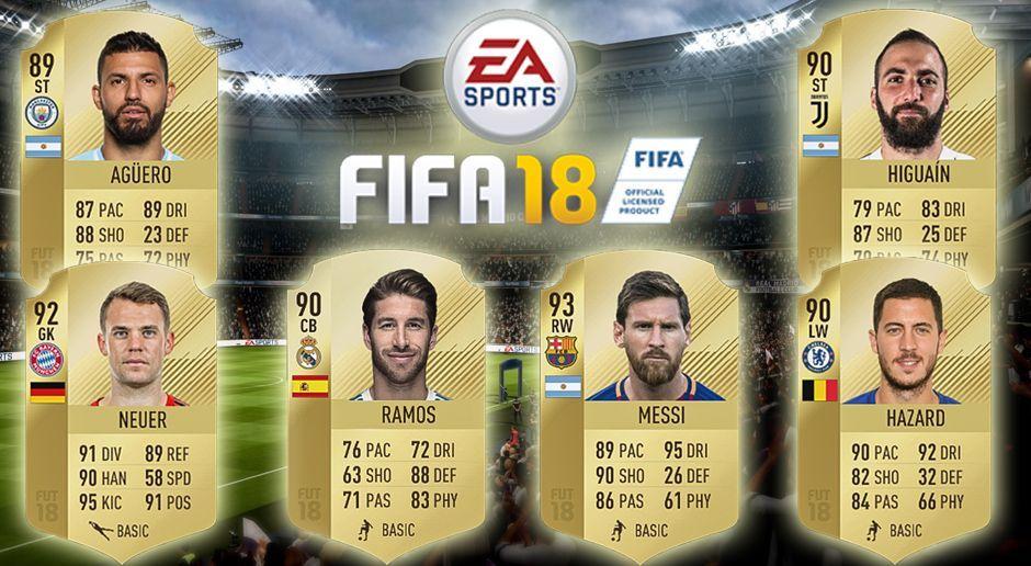 Fifa 18 Die Stärksten Team Im Game