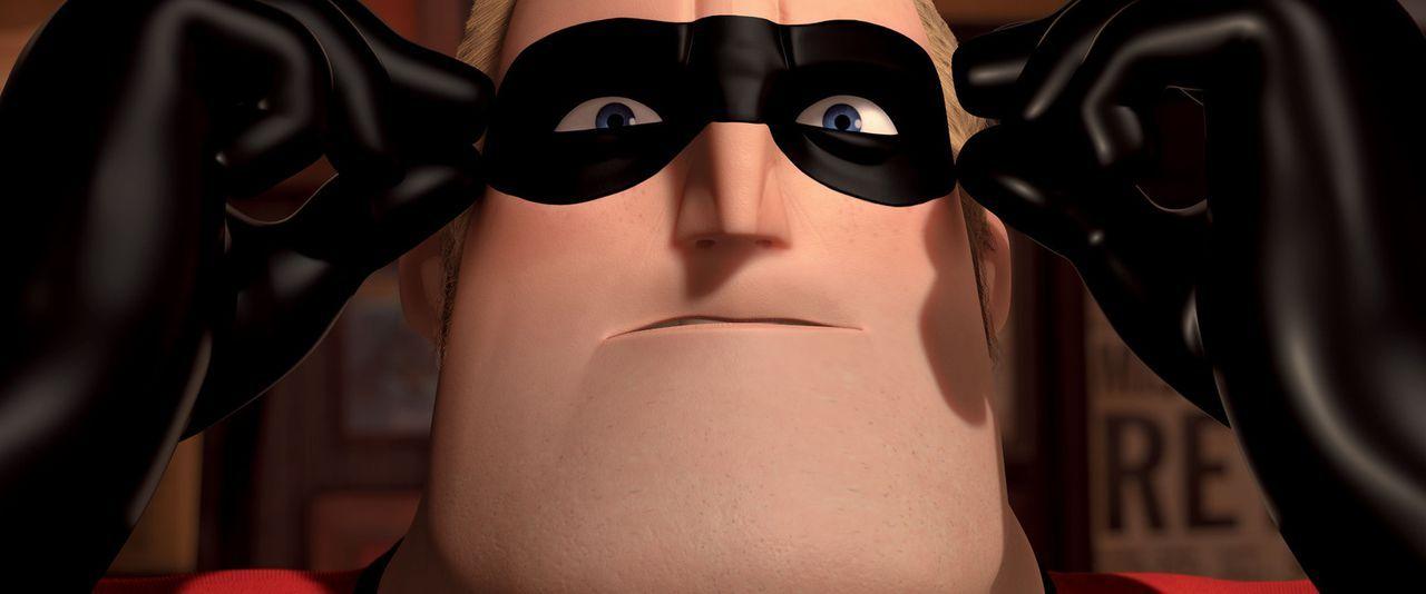 Ein mysteriöser Auftrag ermöglicht Mr. Incredible endlich zu zeigen, dass noch Superkräfte in ihm stecken .. - Bildquelle: Disney/Pixar. All rights reserved