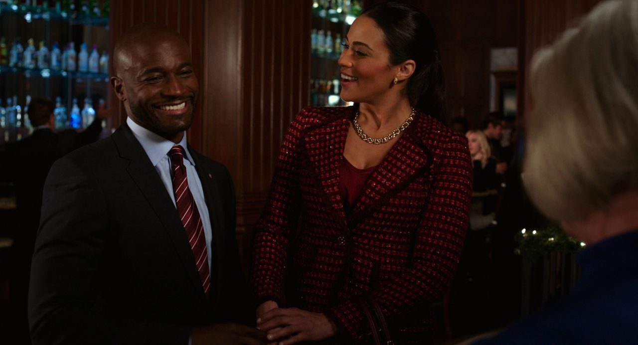 Der charmante Langston (Taye Diggs, l.) beeindruckt Montana Moore (Paula Patton, r.) nachhaltig, aber ist er wirklich Heiratsmaterial? - Bildquelle: 2013 Twentieth Century Fox Film Corporation.  All rights reserved.