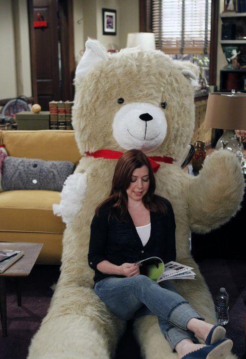 Für wen wird sich Lily (Alyson Hannigan) als Paten für ihren Sohn Marvin entscheiden? - Bildquelle: 2012 Twentieth Century Fox Film Corporation. All rights reserved.