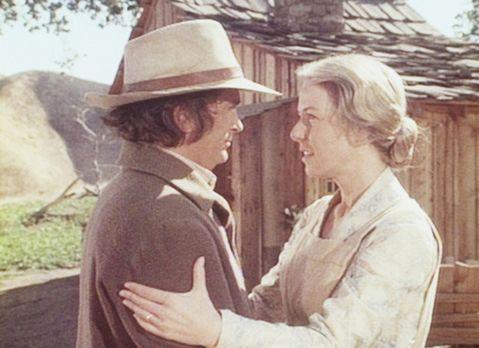 Unsere kleine Farm - Charles (Michael Landon, l.) verschweigt seiner Frau Car...