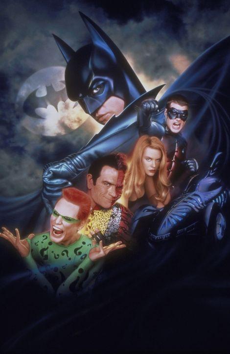 Batman Forever ... - Bildquelle: Warner Brothers International
