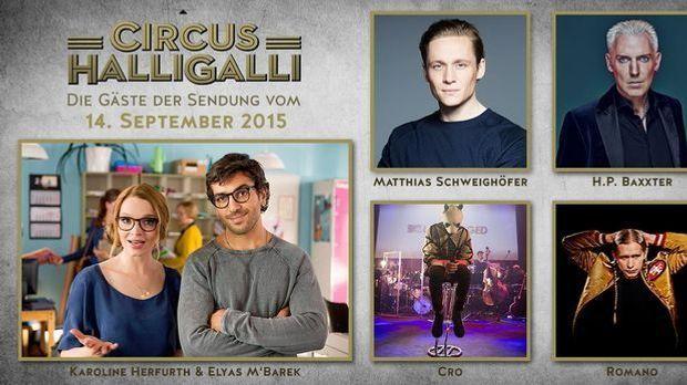 Teaserbild- Circus Halligalli