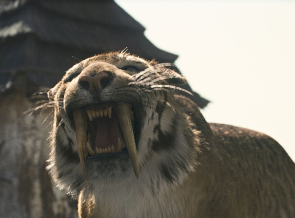 Schon bald geraten D'Leh und seine Gefährten in eine Welt, die mit Wesen bevölkert ist, die ihnen völlig fremd sind. Sie müssen erfahren, dass e... - Bildquelle: Warner Brothers