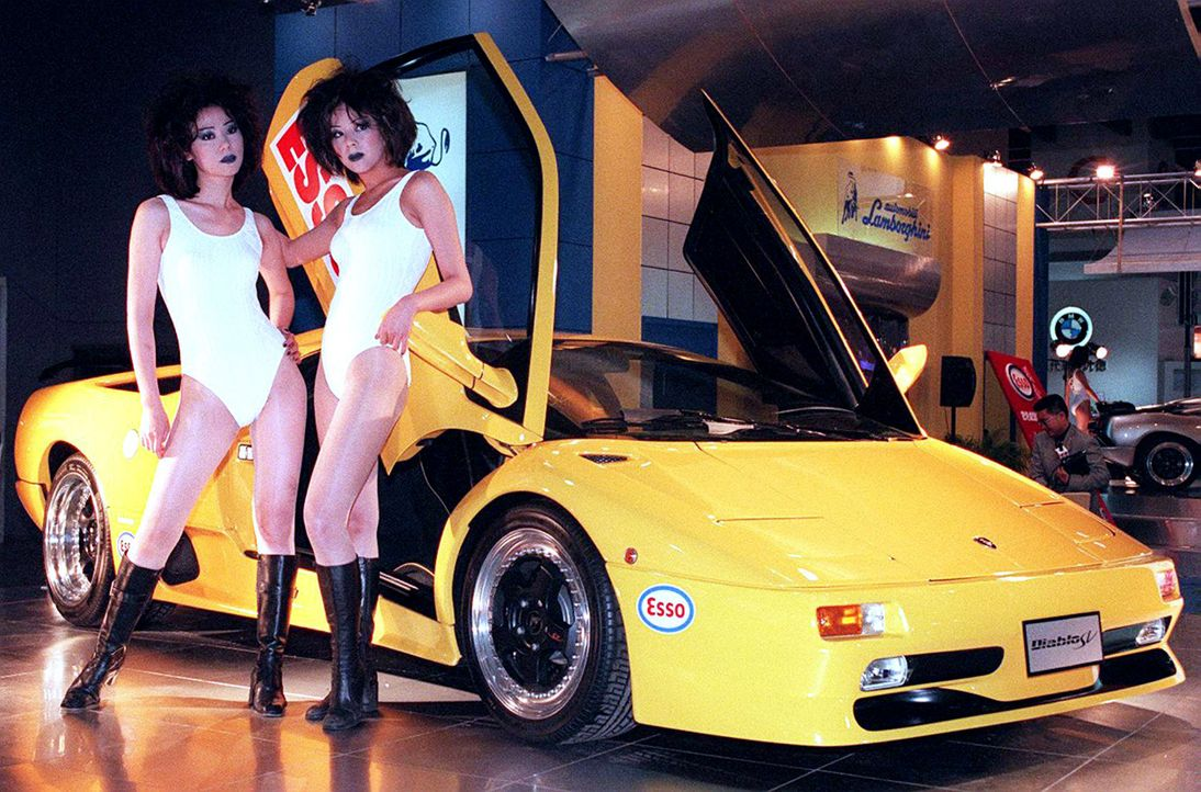 automesse-Taiwan-Lamborghini-971228-AFP - Bildquelle: AFP