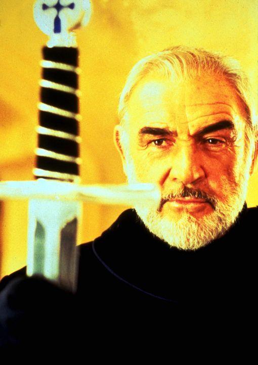 König Artus (Sean Connery) nimmt Lancelot wie einen Sohn bei sich auf. Er ahnt nicht, dass Lancelot und seine Frau Guinevere tiefe Gefühle fürein... - Bildquelle: Columbia Pictures