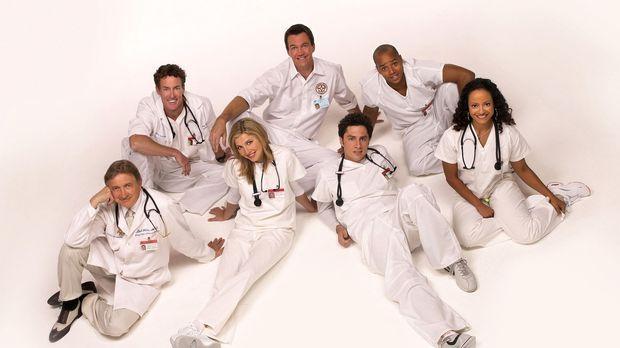 (3. Staffel) - Immer wieder kommt es zu Konflikten zwischen den Jungmediziner...