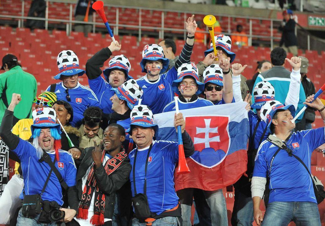 Fußball-Fan-Slowakei-100624-AFP - Bildquelle: AFP