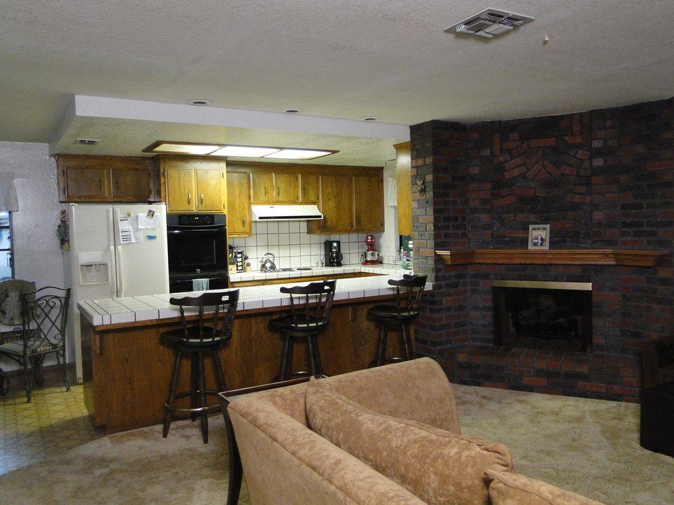 Josh Temple und sein Team geben alles, um die Küche von Steve und Melissa in eine Party-Küche zu verwandeln ...