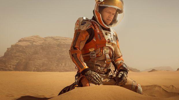 Als es auf dem Mars zu einem verheerenden Unfall kommt, bei dem Mark (Matt Da...