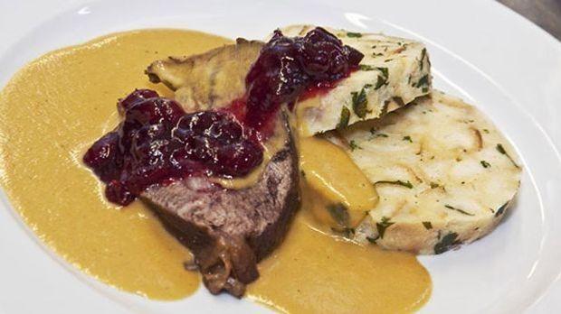 Ein Klassiker aus der Küche unserer tschechischen Nachbarn: Rindfleisch mit b...