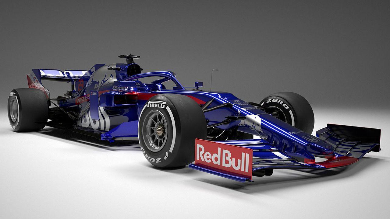 Formel-1-Autos 2019: Red Bull Toro Rosso Honda - Bildquelle: Twitter/@ToroRosso