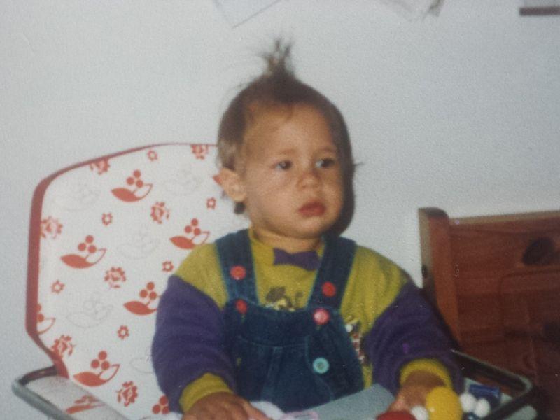 Tim als Baby - Bildquelle: sixx