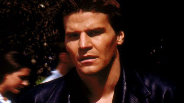 Angel (David Boreanaz) kann sich im Sonnenlicht aufhalten, ohne zu verbrennen...