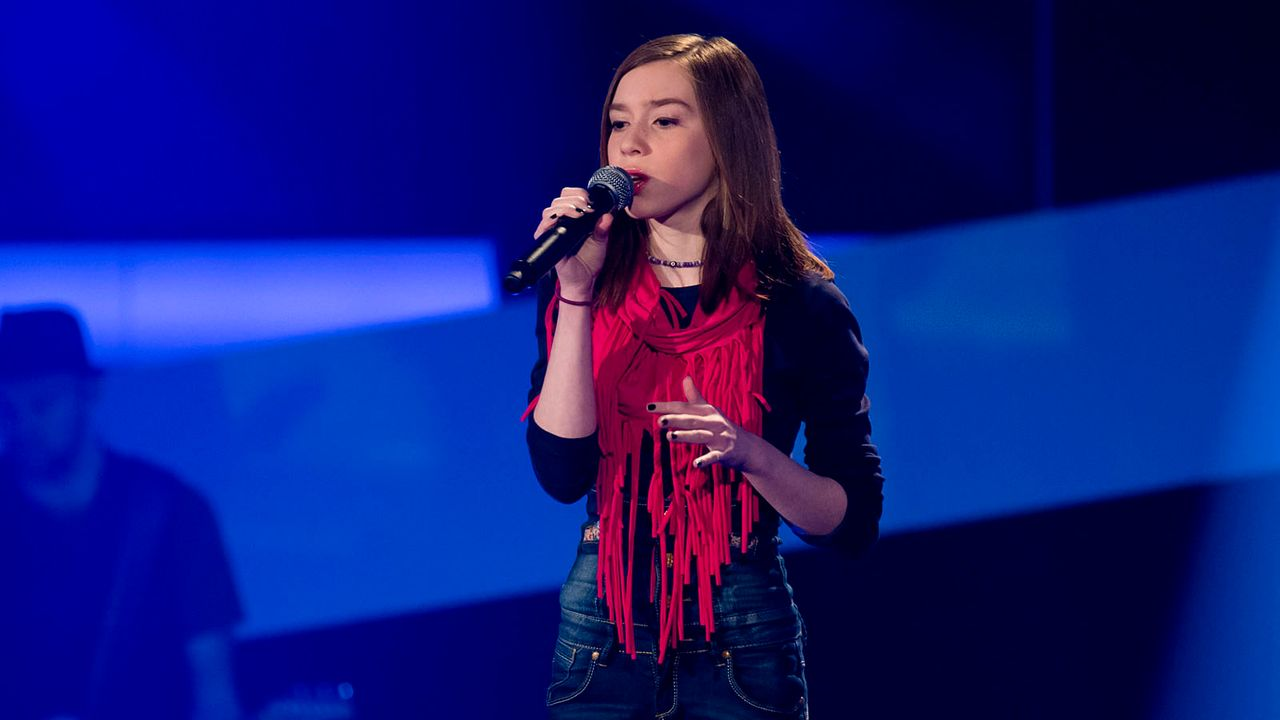The-Voice-Kids-s01e02-Alexandra-01 - Bildquelle: SAT.1/Richard Hübner