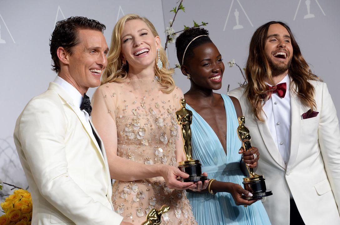 McConaughey-Blanchett-Nyong-o-Leto-14-03-02-AFP - Bildquelle: AFP