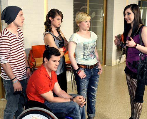 Ein Auftritt der STAG wartet auf Bodo, Timo, Jenny, Emma und Luzi. - Bildquelle: Christoph Assmann - Sat1