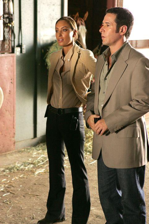 Wollen den Mord an Danny Roberts aufklären: Liz Warner (Aya Sumika, l.) und Don (Rob Morrow, r.) ... - Bildquelle: Paramount Network Television