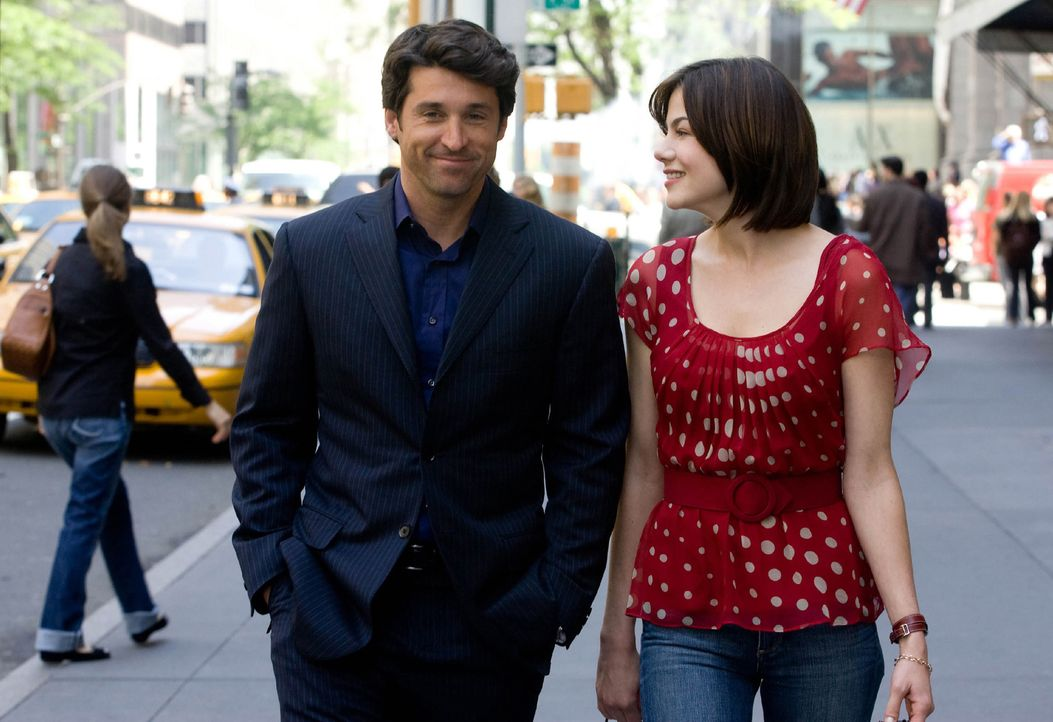 Der erfolgreiche Tom (Patrick Dempsey, l.) ist ein Glückspilz und Frauenheld. Mit Hannah (Michelle Monaghan, r.) verbindet ihn eine tiefe Freundscha... - Bildquelle: 2008 Columbia Pictures Industries, Inc. and Beverly Blvd LLC. All Rights Reserved.