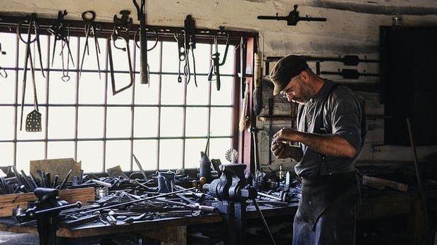 Handwerker-Ausrüstung