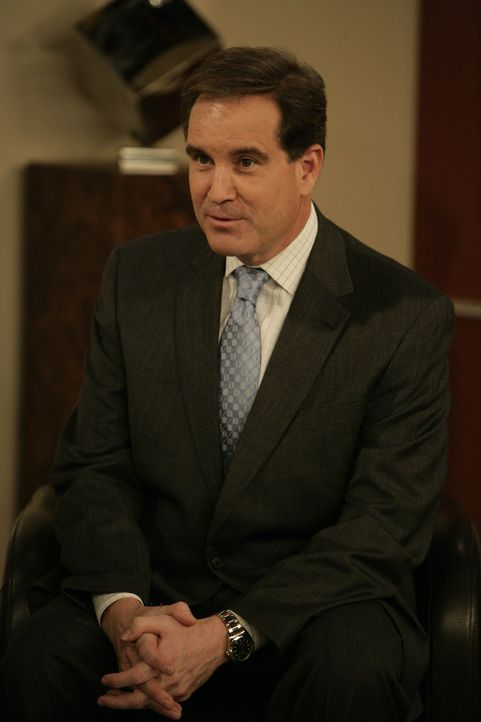 Sportreporter Jim Nantz (Jim Nantz) interviewt Barney zu seiner Sportart - superscharfe Mädls flachlegen ... - Bildquelle: 20th Century Fox International Television
