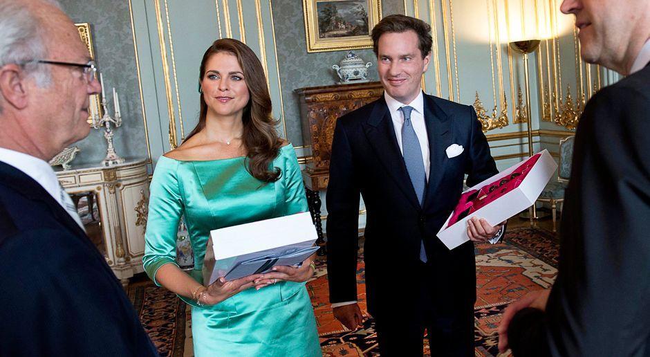 Prinzessin-Madeleine-von-Schweden-Chris-ONeill-13-05-19-dpa - Bildquelle: dpa