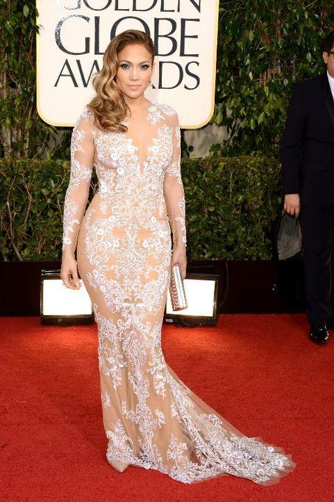 Golden Globes: Kleid von Jennifer Lopez - Bildquelle: AFP