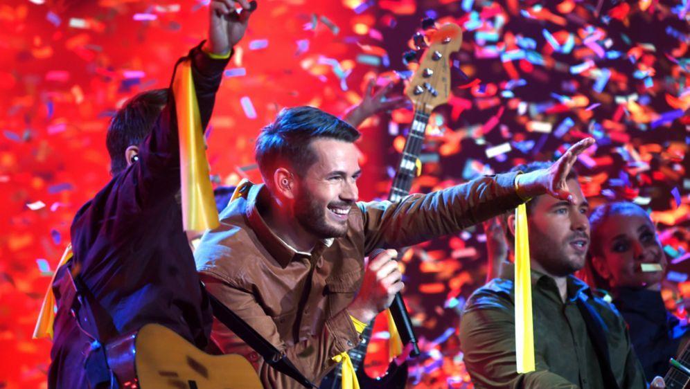 Bundesvision Song Contest 2014 Gewinner Revolverheld Hängen Die