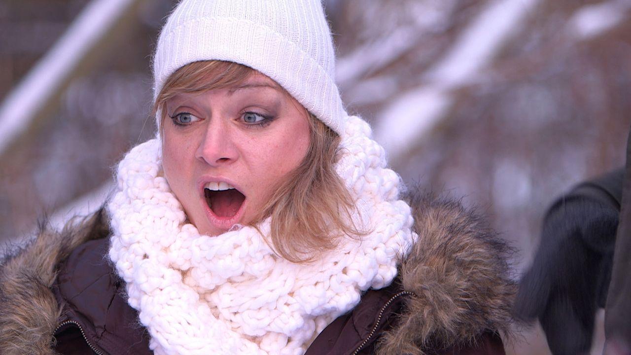 Eine romantische Überraschung wartet auf Christina ... - Bildquelle: SAT.1