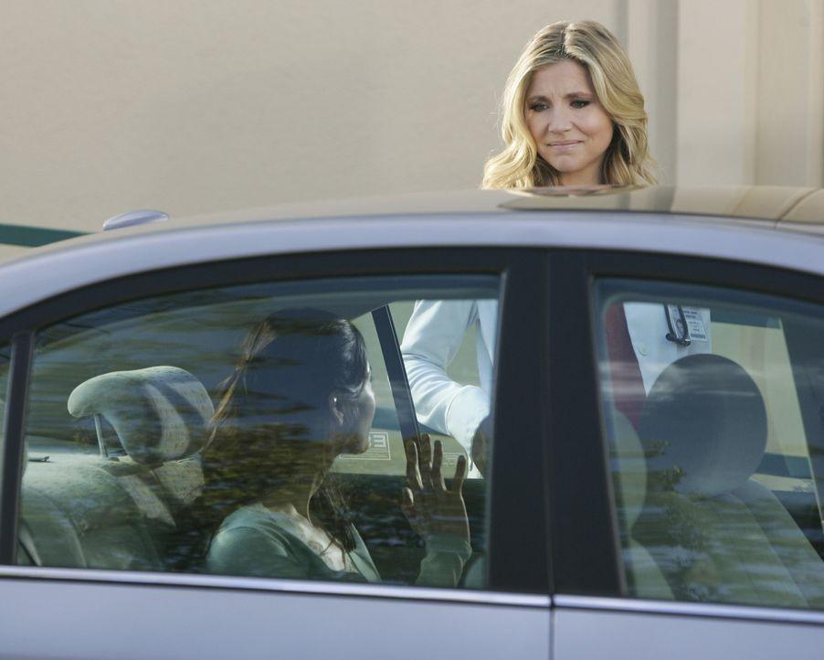 Elliott (Sarah Chalke, r.) ist entsetzt: Ihre Freundin und Patientin Shannon (Lauren Stamile, l.) möchte sich das Leben nehmen ... - Bildquelle: Touchstone Television