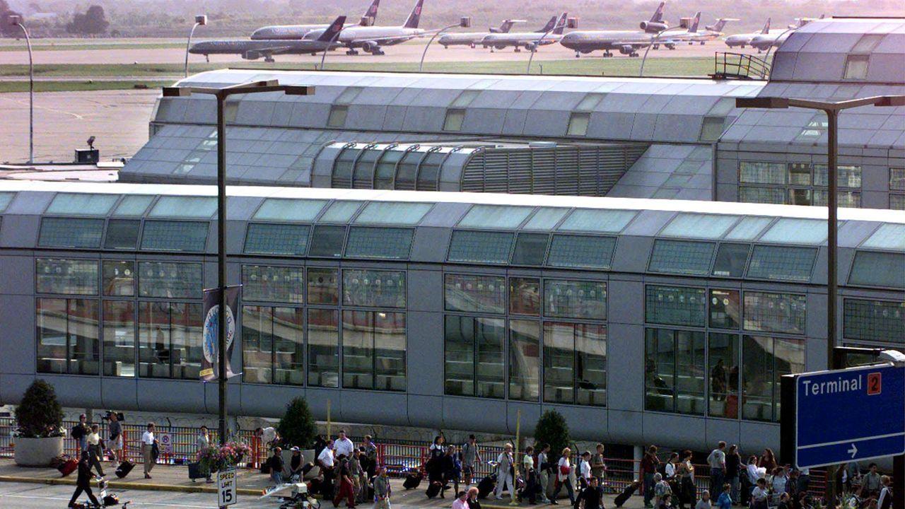 O'Hare International Airport - Bildquelle: AFP/Tannen Maury