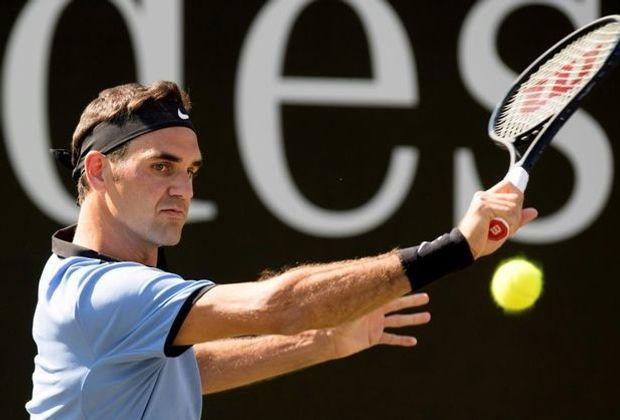 Roger Federer trifft in Halle auf Lu Yen-Hsun