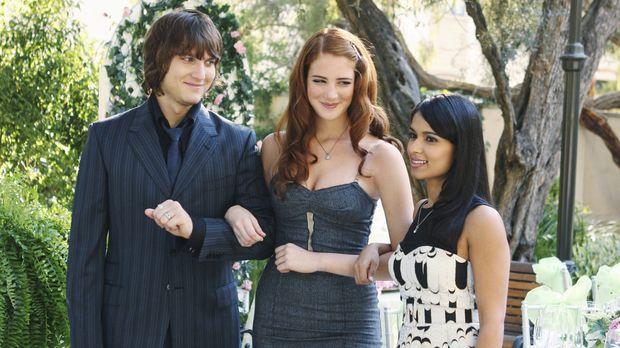 Cappie (Scott Michael Foster, l.), Robin (Anna Osceola, M.) und Rebecca (Dils...