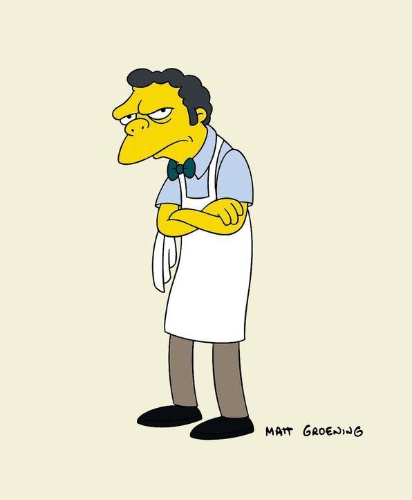(13. Staffel) - Einer von Homer Simpsons besten Freunden: Kneipenbesitzer Moe. - Bildquelle: und TM Twentieth Century Fox Film Corporation - Alle Rechte vorbehalten